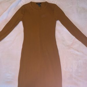 FOREVER21 long brown body dress brand new with tag